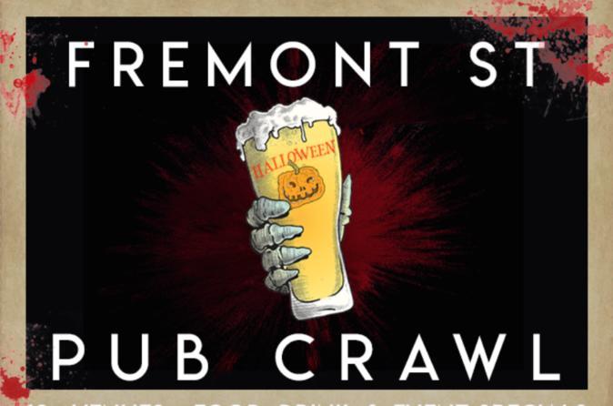 Fremont Street Halloween Day Pub Crawl