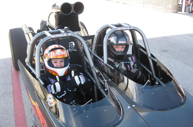 Ride along in a dragster at maple grove raceway in reading 291152