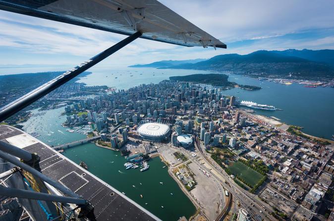 Excursão de hidroavião para Vancouver