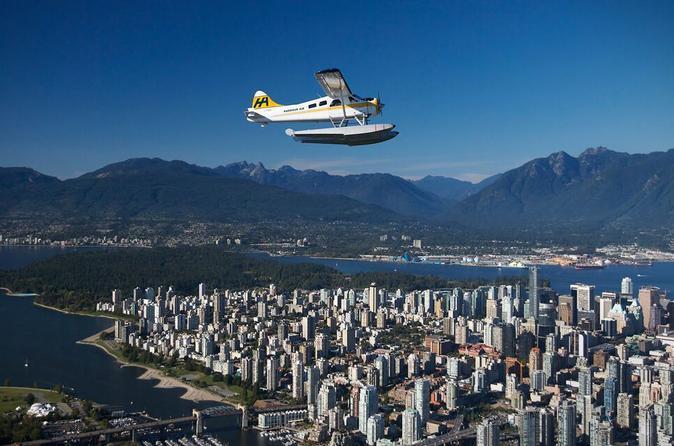 Victoria to Vancouver Seaplane Flight