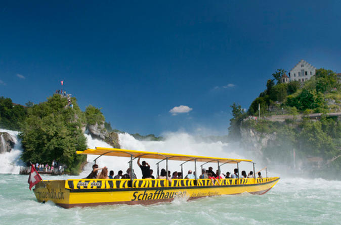 Rhine falls half day trip from basel with hotel pick and drop off in basel 315092
