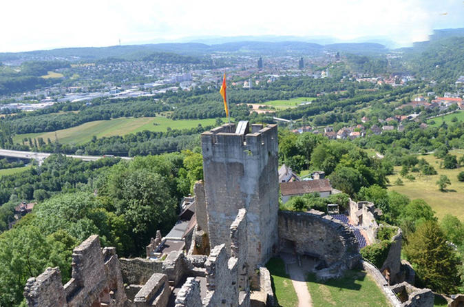 Rotteln castle entrance ticket from basel with hotel pick up and drop in basel 315095