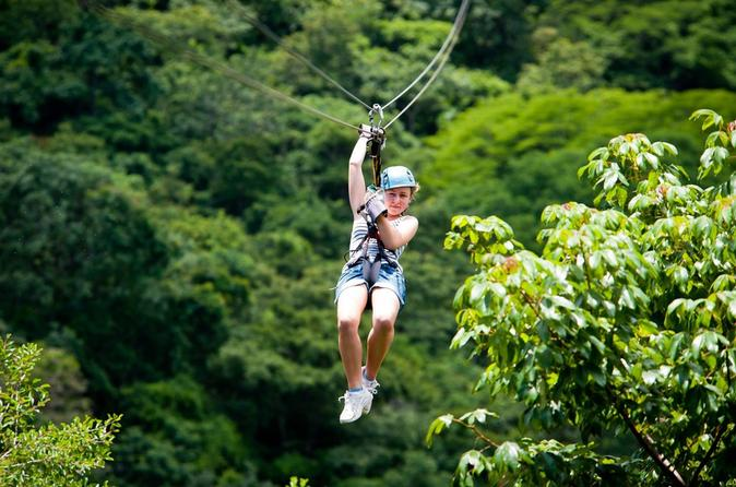 Canopy Zipline Tour from Guatemala City