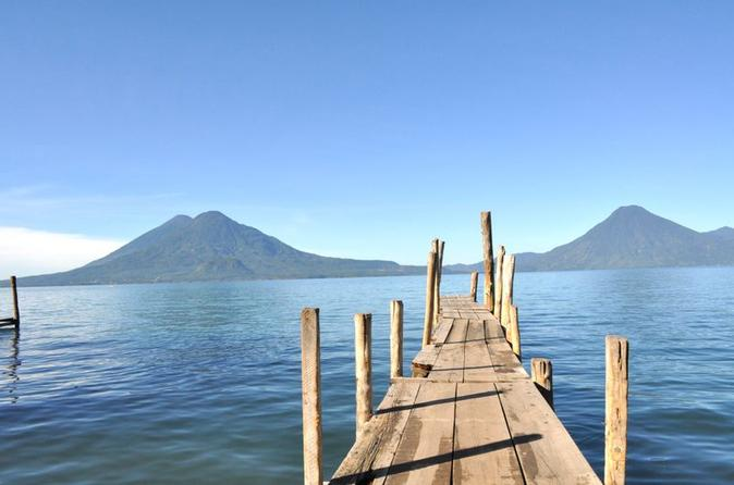 Private tour lake atitlan boat tour and santiago village from in guatemala city 202987