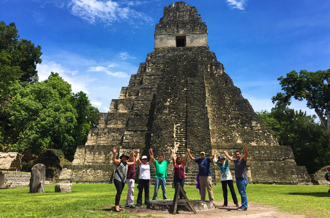 Tikal Maya Ruins Full Day Tour from Guatemala City