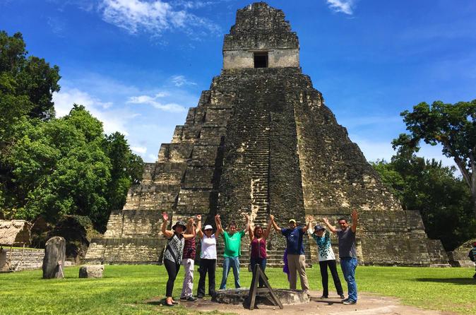Tikal Maya Ruins Full Day Tour from Guatemala City