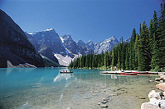 Excursão de um Dia com Lagos e Quedas d'água na Montanha saindo de Calgary