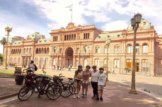 Excursão de bicicleta: destaques da cidade de meio dia em Buenos Aires