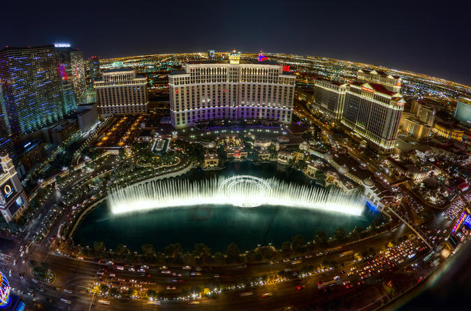 Las Vegas New Years Eve Tour from San Diego