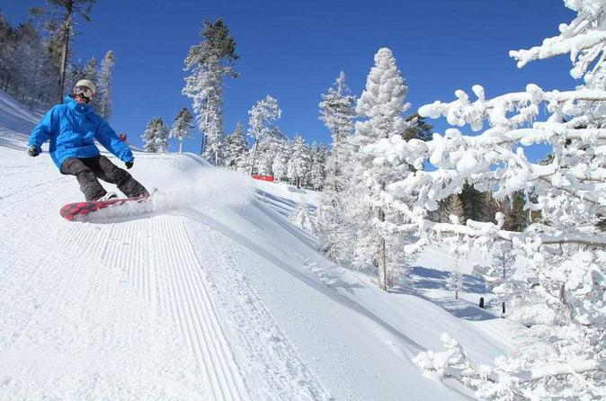 Snow Bus Xpress: Ski Service to Big Bear Mountain