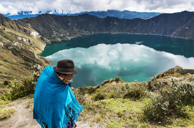 Private Tour: Quilotoa Lagoon from Quito Ecuador, South America