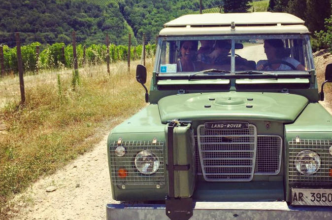 Off-Road Tuscan Wine Tour From Greve In Chianti - Florence