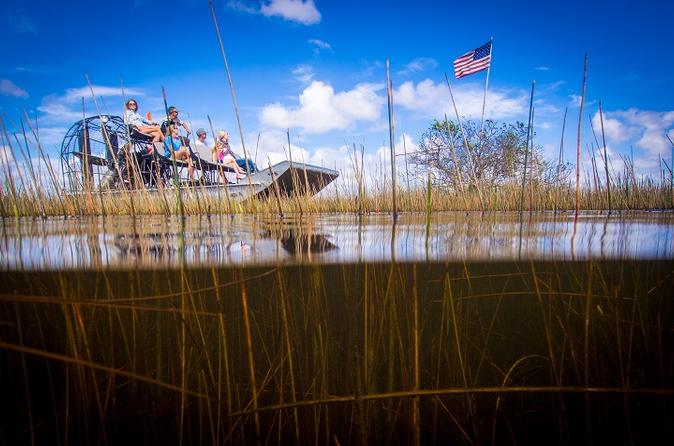 Everglades Tour, Airboat, Wildlife Exhibit and Miami Transport