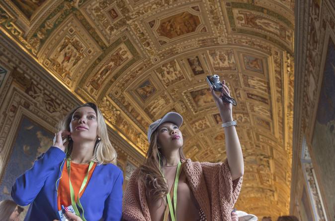 Saltafila: tour a piedi di mezza giornata ai Musei Vaticani, alla Cappella Sistina e alla Basilica di San Pietro