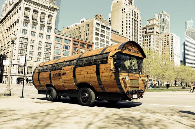 Chicago Barrel Bus Craft Distillery Tour