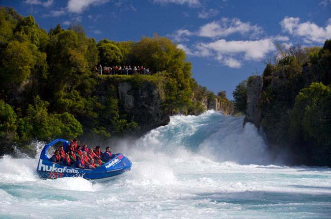 Waikato river jet boat ride from taupo in taupo 119211