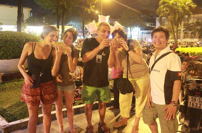 Ho Chi Minh City Evening Saigon Foodie Tour with Scooter Ride  in Vietnam Asia