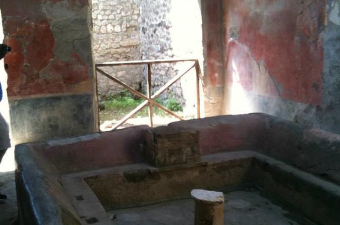 Pompeii and wine tastings