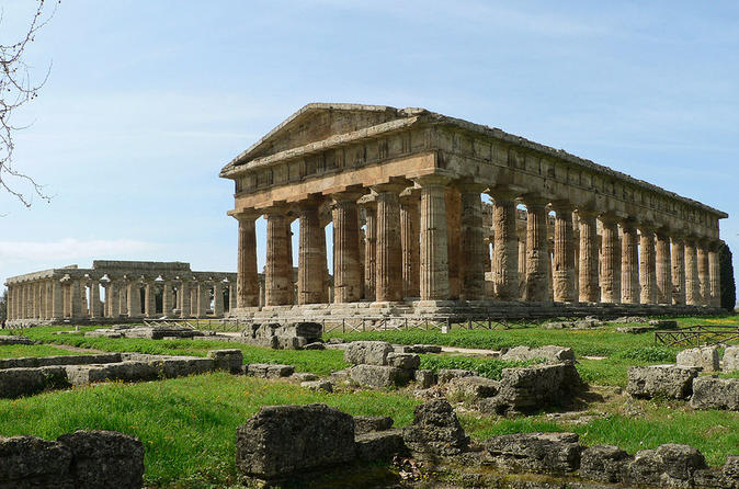 Private day tour paestum with lunch and shopping from salerno in salerno 318583