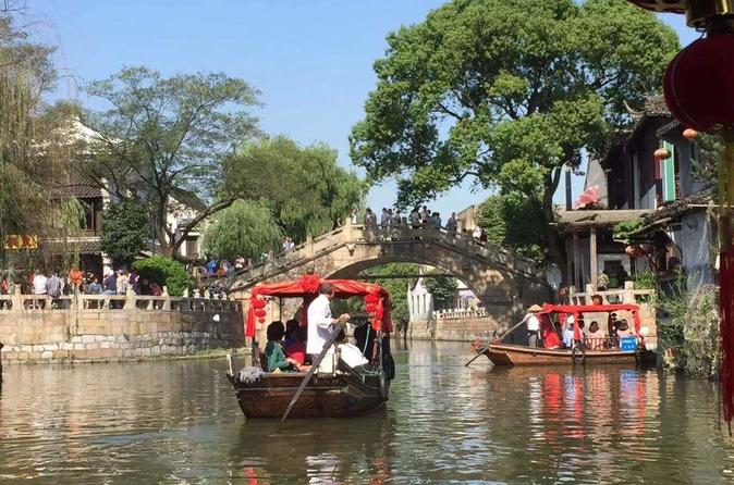 Fengjing Water Town And Shanghai City Highlights Private Day Tour