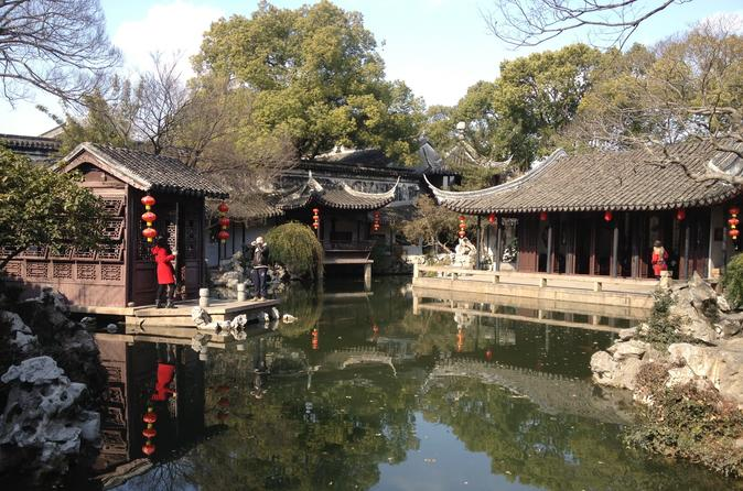 Private Hidden and Historical Suzhou Exploration from Shanghai
