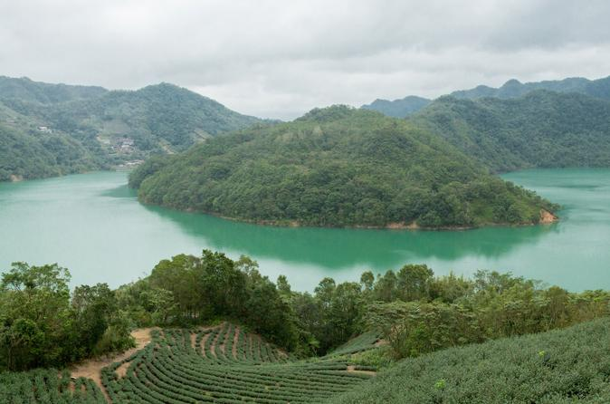 5 hour thousand island lake and pinglin tea plantation scenery tour in taipei 317490