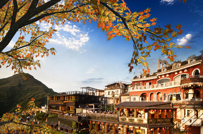 Chiufen village jiufen and northeast coast half day tour from taipei in taipei 139186