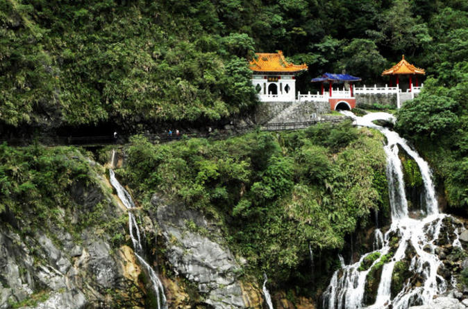 Excursão de dia inteiro ao desfiladeiro Taroko saindo de Taipei