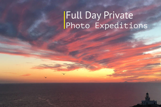 FULL DAY PRIVATE PHOTO EXPEDITIONS - Santorini