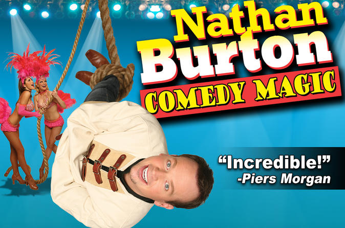 Nathan Burton Magic Show en el Planet Hollywood Resort and Casino