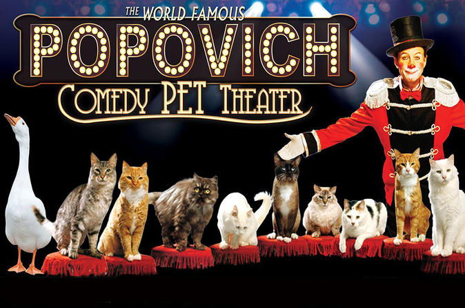 Popovich Comedy Pet Theater in het Planet Hollywood Resort & Casino
