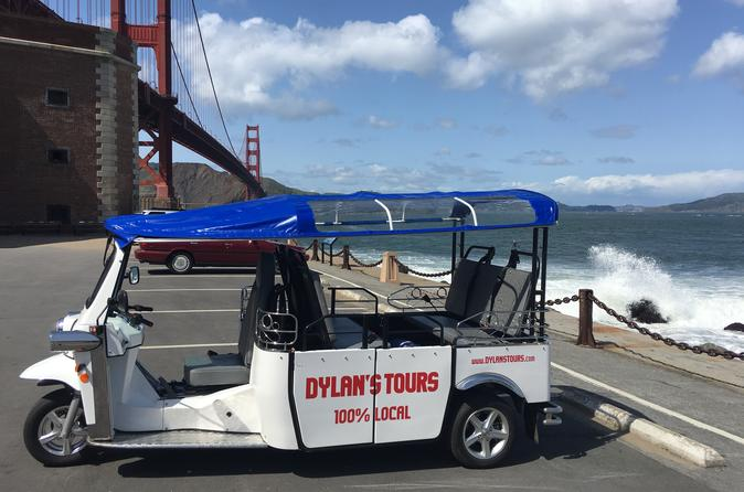 Electric Tuk-Tuk San Francisco Highlights Tour