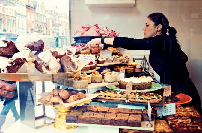 London Cakes and Chocolate Tasting Experience