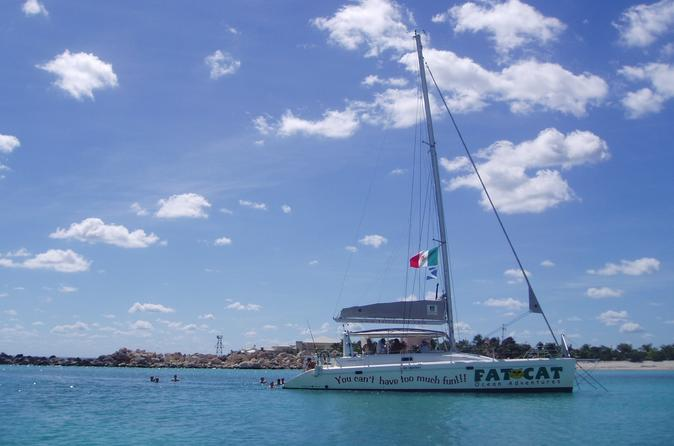 Riviera maya catamaran adventure in playa del carmen 155397
