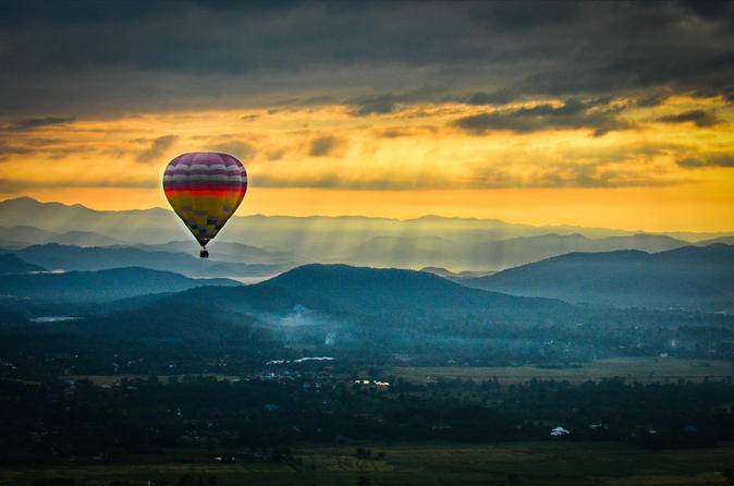Chiang Mai Sunrise Balloon Flight and Luxury Spa Day