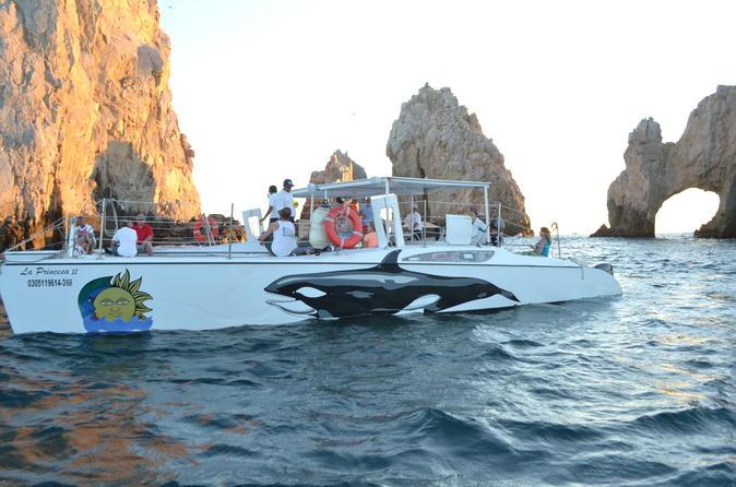 Snorkeling catamaran tour at santa maria bay in cabo san lucas 295995