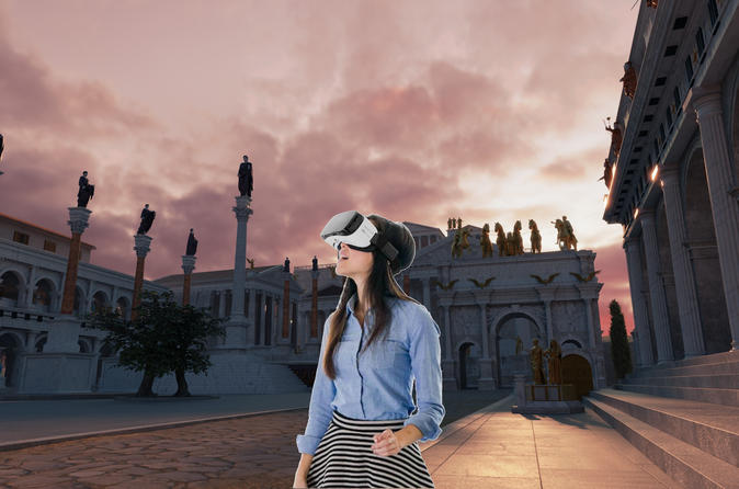 Best of Rome Walking Tour with Underground and Virtual Reality Experience