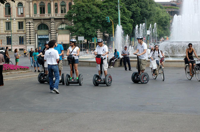 Italien Mailand Segway Tour