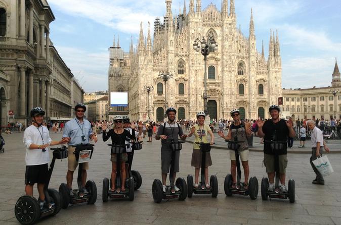Milan segway tour in milan 186554