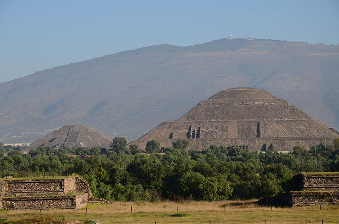 Basilica of Guadalupe and Teotihuacan Private Tour from Mexico City