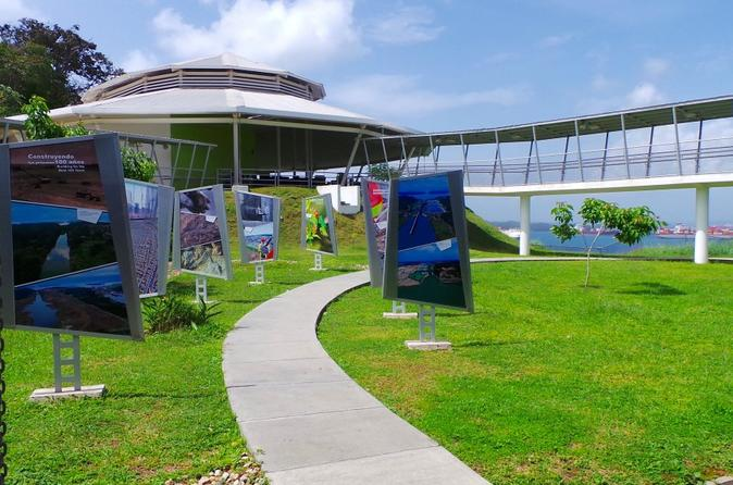 Colon Observation Center of the Canal Expansion From Panama City