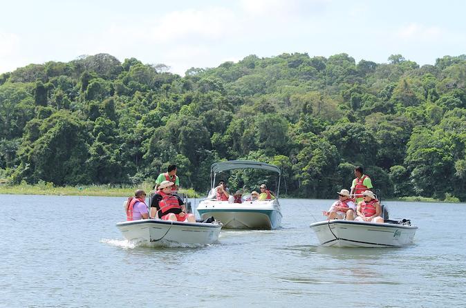 Fishing at the Panama Canal