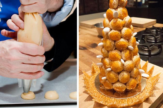 French Choux Pastry Class : Eclairs, Chouquettes, Paris-Brest