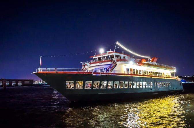 Cruzeiro com jantar no Hudson pelo World Yacht de Nova York