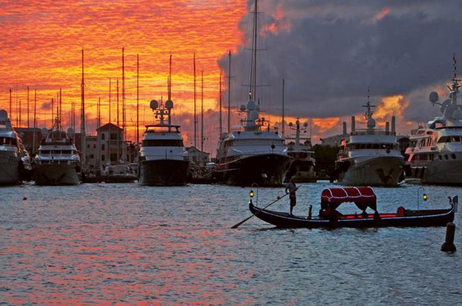 Simpson Bay Tropical Gondola Cruise in St Maarten Sint Maarten (Netherlands), Caribbean