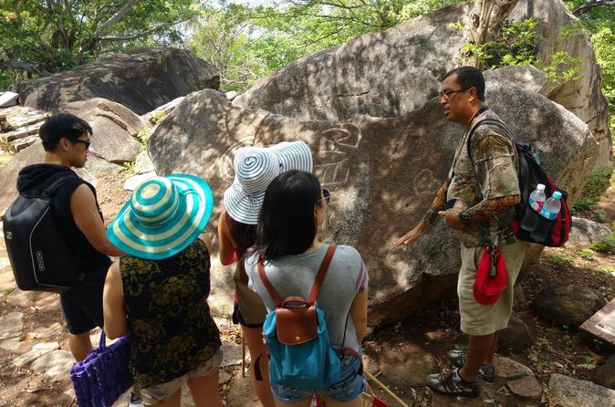 Palma Sola Petroglyphs Archaeological Zone and Municipal Market Tour