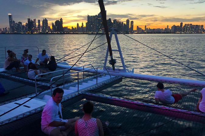 Sunset Catamaran Cruise from Panama City
