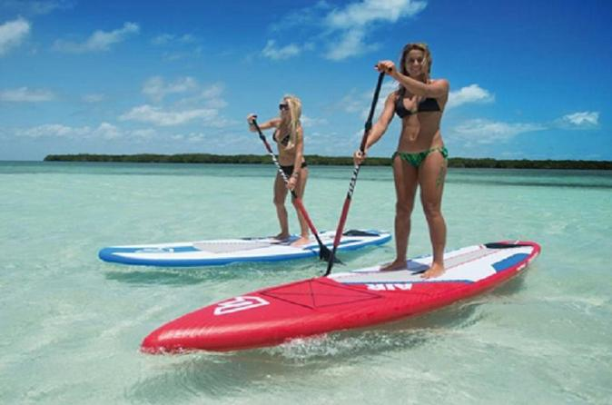 Paddleboard Al With Instruction From Miami Beach