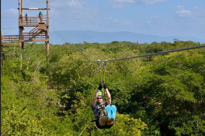 Reggae zipline tour from negril in negril 312368