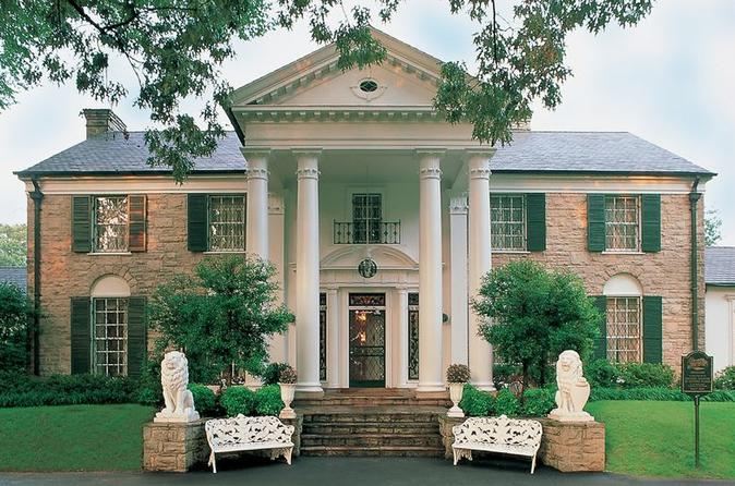 Graceland Tour: Elvis Experience Pass with Transportation from Memphis